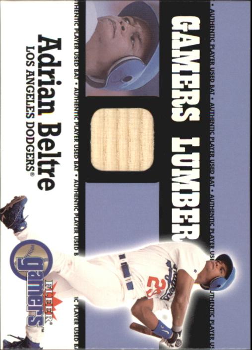 2000 Fleer Gamers Lumber #5 Adrian Beltre