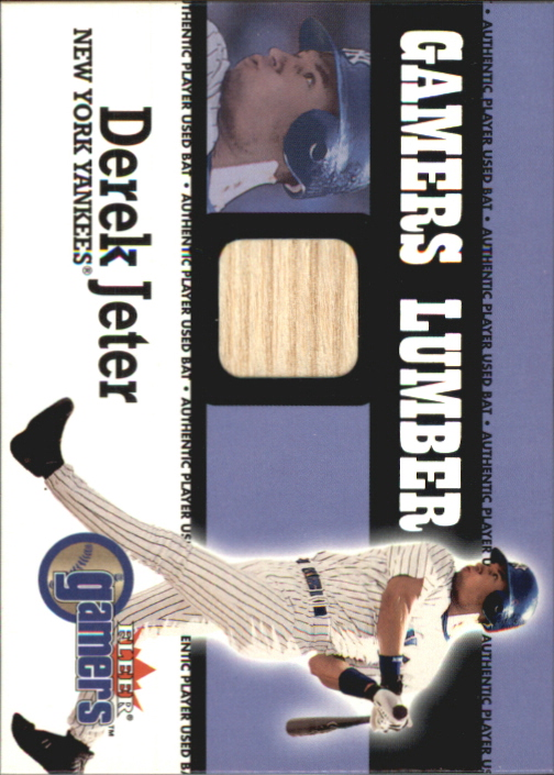 2000 Fleer Gamers Lumber #24 Derek Jeter