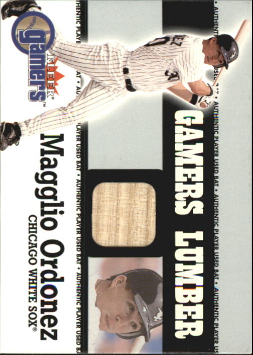 2000 Fleer Gamers Lumber #34 Magglio Ordonez