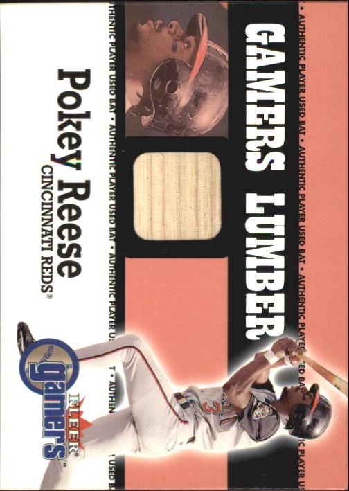 2000 Fleer Gamers Lumber #36 Pokey Reese
