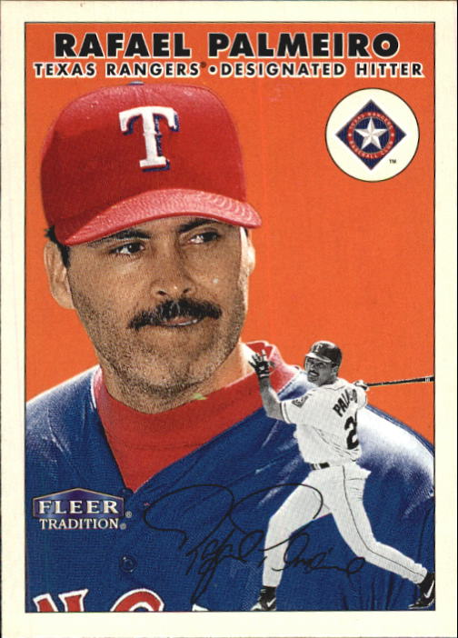 2000 Fleer Tradition #228 Rafael Palmeiro
