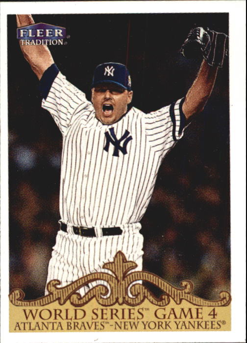 2000 Fleer Tradition #450 Roger Clemens WS