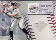 2000 Impact Genuine Coverage Batting Gloves #5 Ben Davis