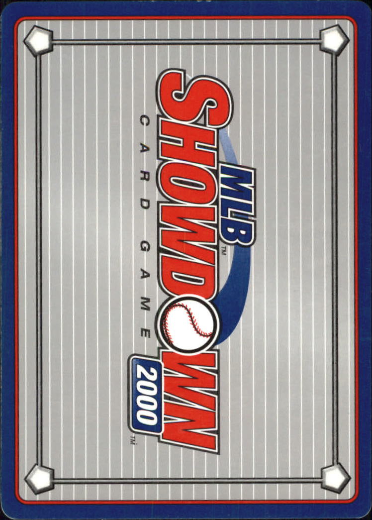 2000 MLB Showdown Unlimited #101 Paul Konerko back image