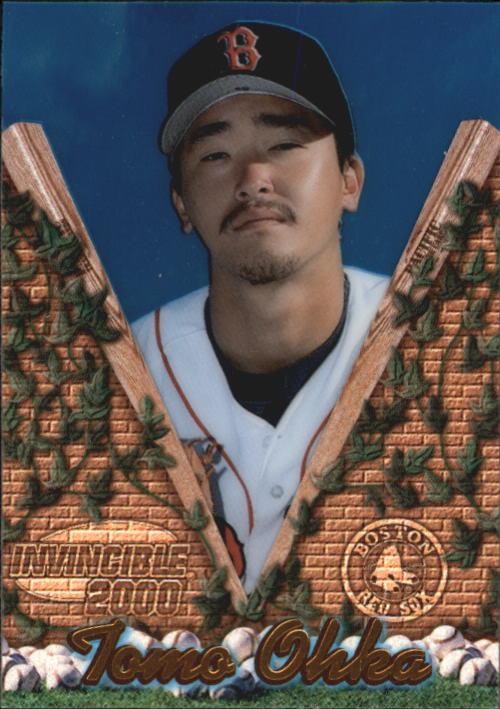 2000 Pacific Invincible #26 Tomo Ohka RC