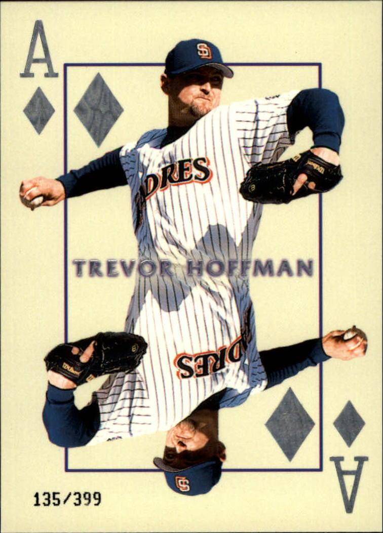 2000 Pacific Invincible Diamond Aces 399 #18 Trevor Hoffman