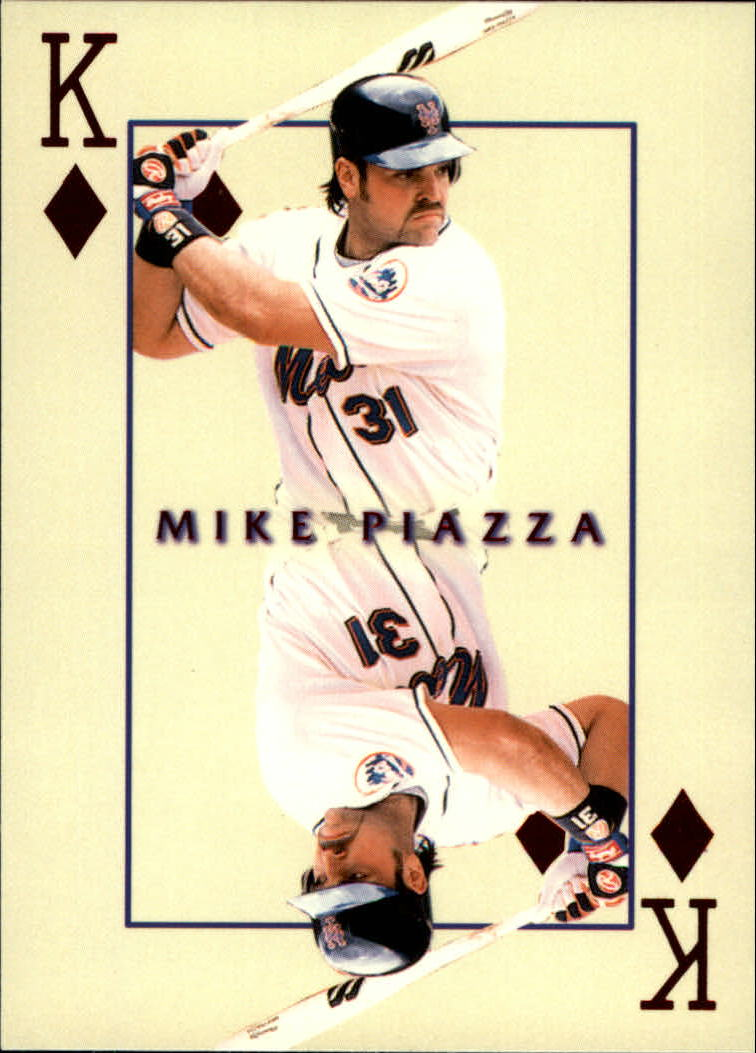 2000 Pacific Invincible Kings of the Diamond #19 Mike Piazza