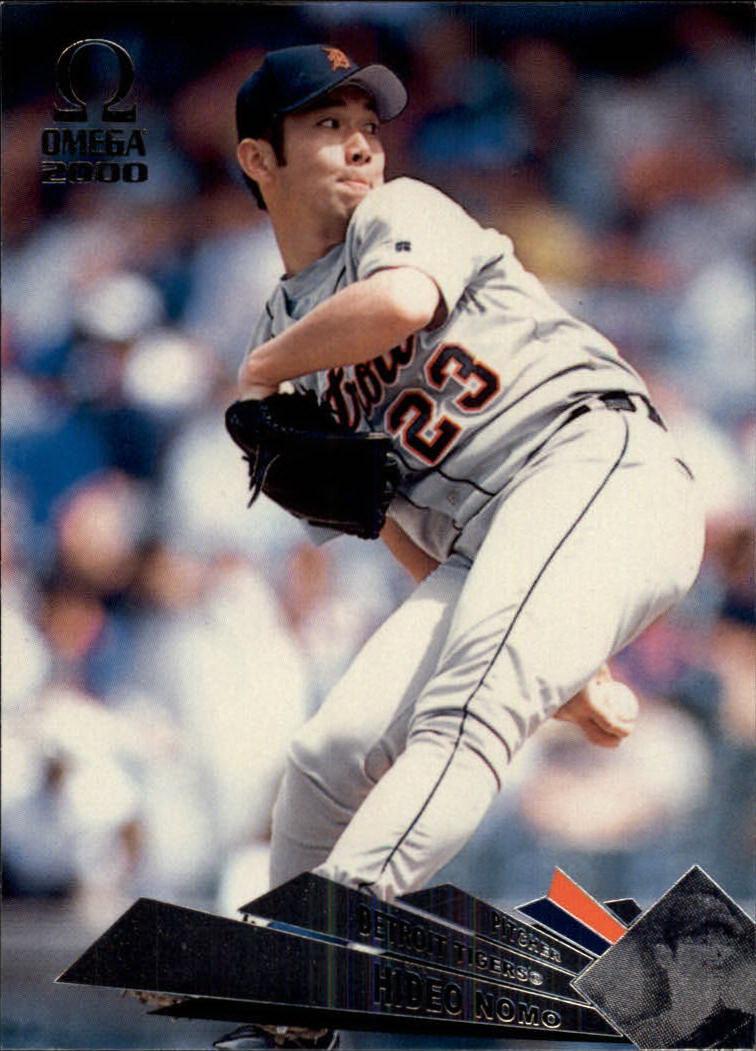 2000 Pacific Omega #53 Hideo Nomo