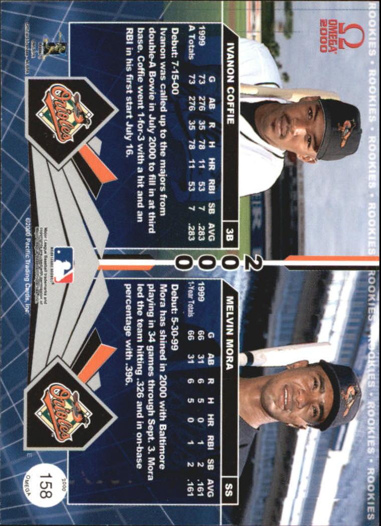 2000 Pacific Omega #158 I.Coffie/M.Mora back image