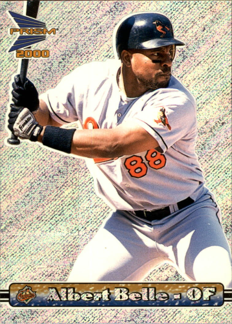 2000 Pacific Prism Rapture Silver #17 Albert Belle