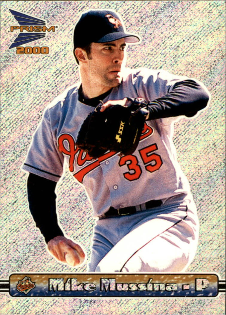 2000 Pacific Prism Rapture Silver #18 Mike Mussina