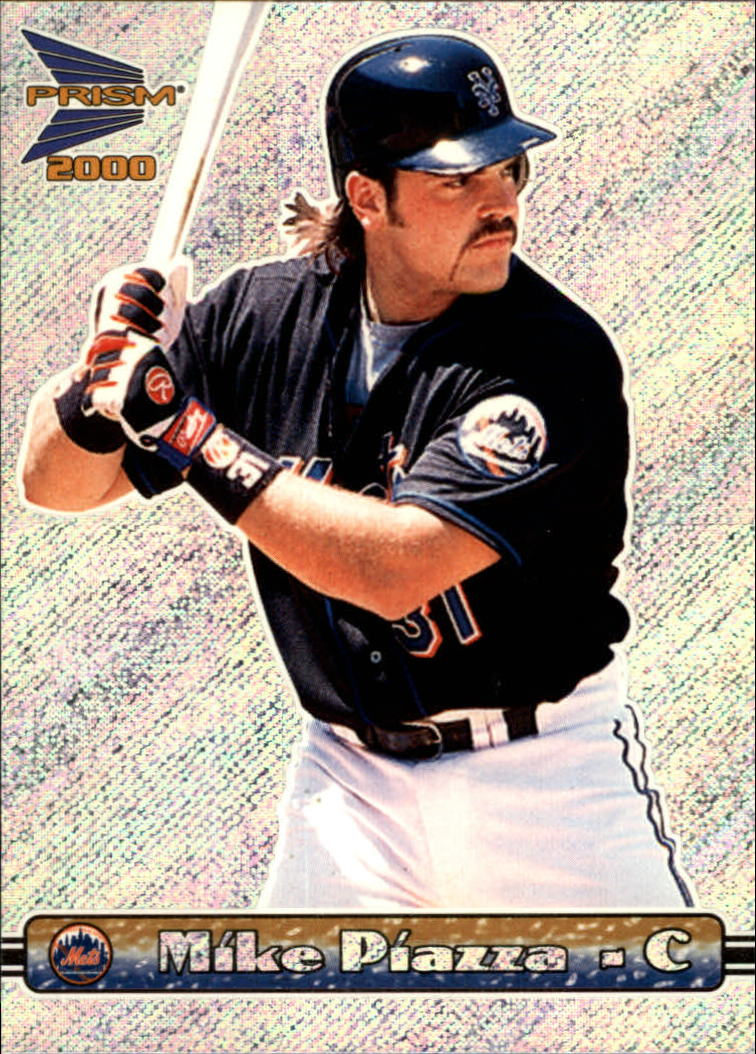 2000 Pacific Prism Rapture Silver #95 Mike Piazza