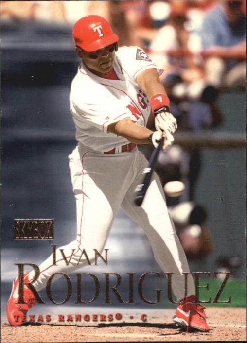 2000 SkyBox #2 Ivan Rodriguez