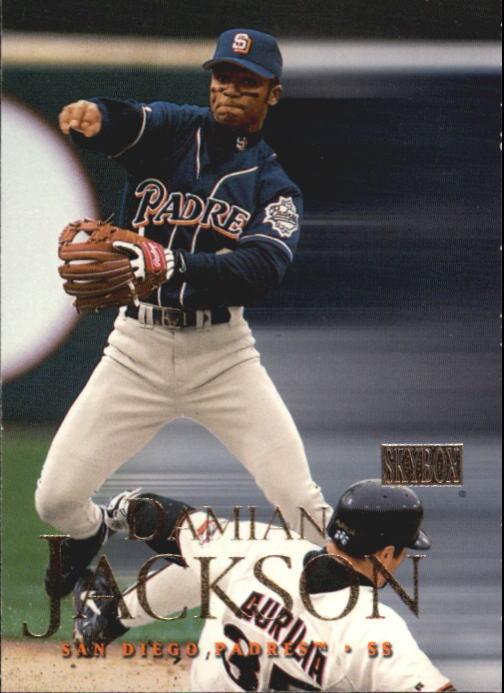 2000 SkyBox #8 Damian Jackson