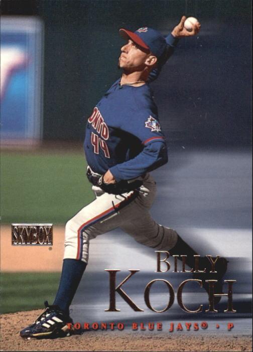 2000 SkyBox #10 Billy Koch