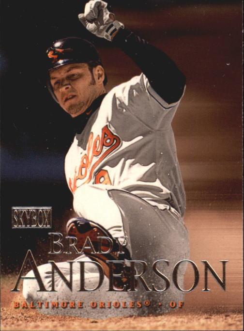2000 SkyBox #11 Brady Anderson