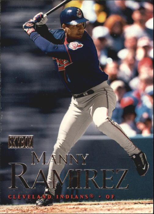 2000 SkyBox #18 Manny Ramirez