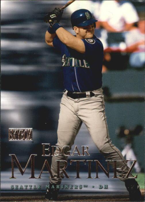 2000 SkyBox #21 Edgar Martinez