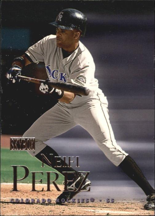 2000 SkyBox #24 Neifi Perez