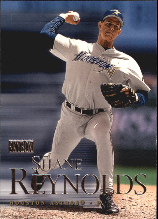 2000 SkyBox #25 Shane Reynolds