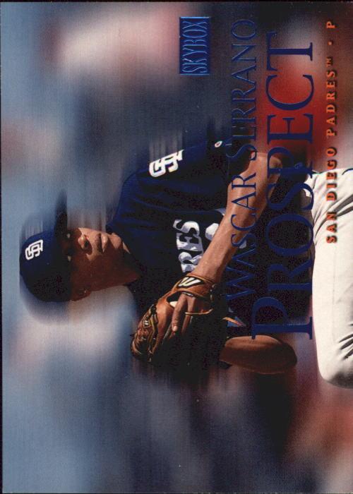 2000 SkyBox #237 Wascar Serrano RC