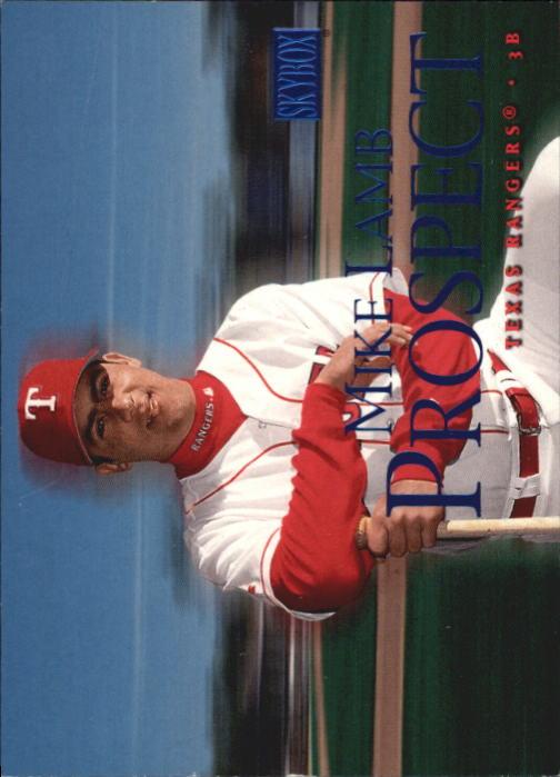 2000 SkyBox #239 Mike Lamb RC