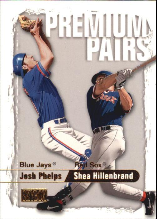 2000 SkyBox #242 J.Phelps RC/S.Hillenbrand