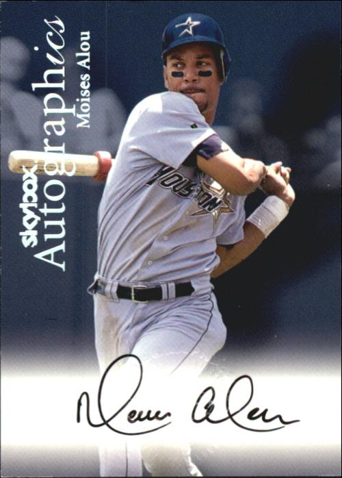 2000 SkyBox Autographics #3 Moises Alou