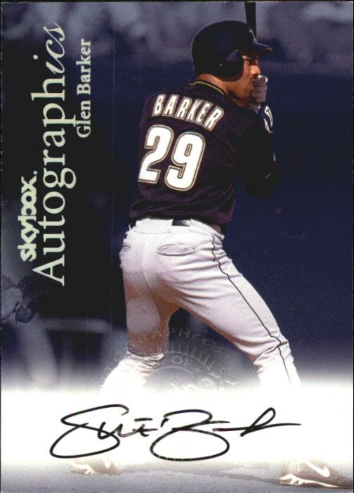 2000 SkyBox Autographics #6 Glen Barker