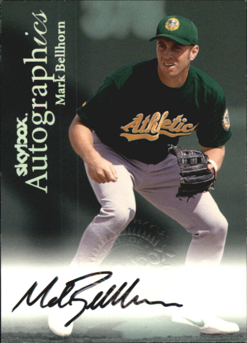 2000 SkyBox Autographics #10 Mark Bellhorn