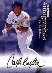 2000 SkyBox Autographics #11 Carlos Beltran