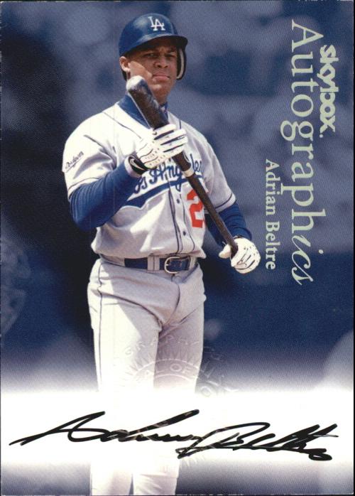 2000 SkyBox Autographics #12 Adrian Beltre
