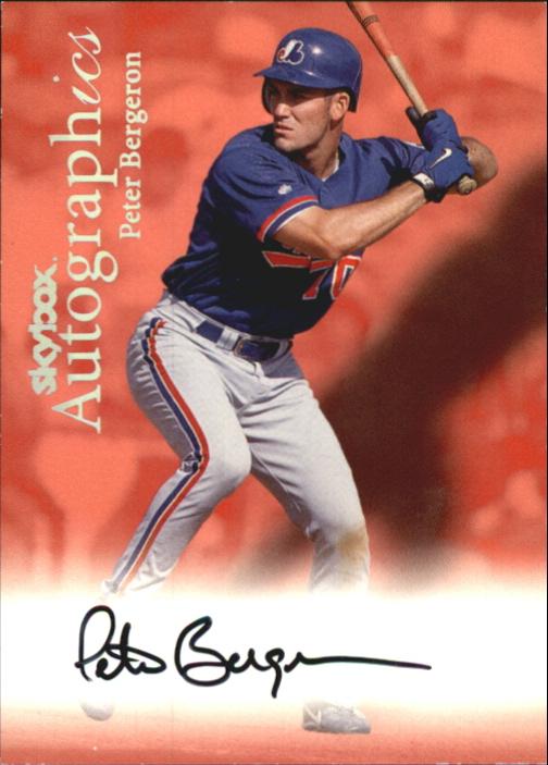 2000 SkyBox Autographics #13 Peter Bergeron