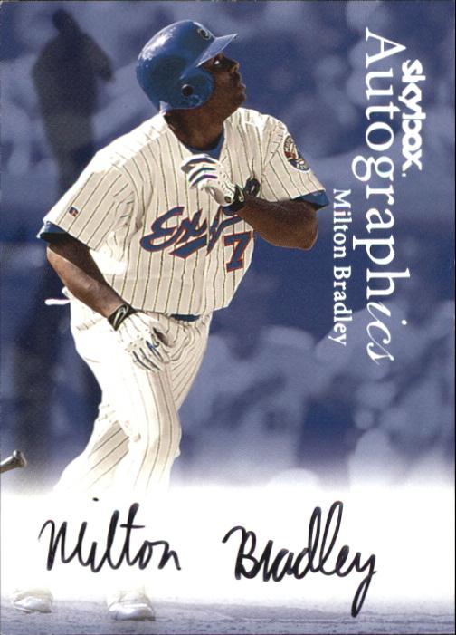 2000 SkyBox Autographics #18 Milton Bradley