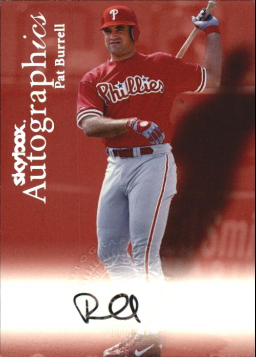 2000 SkyBox Autographics #20 Pat Burrell