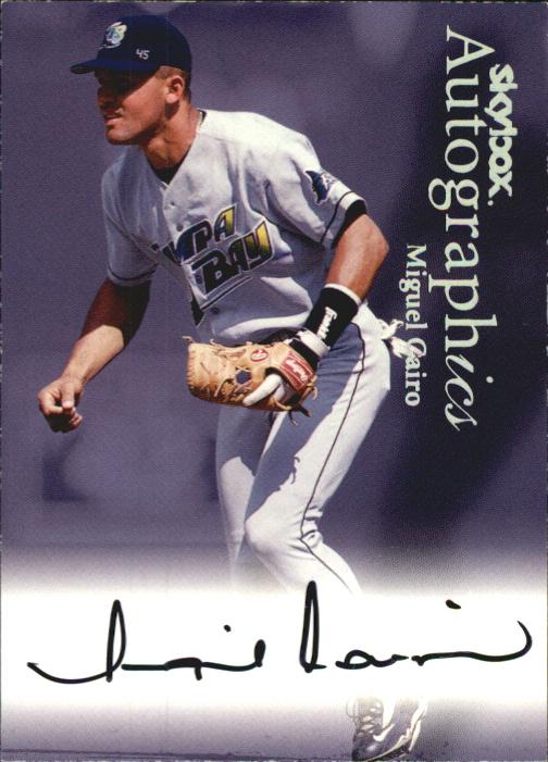 2000 SkyBox Autographics #22 Miguel Cairo