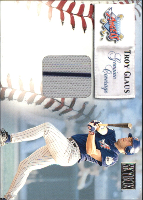 2000 SkyBox Genuine Coverage #3 Troy Glaus HR