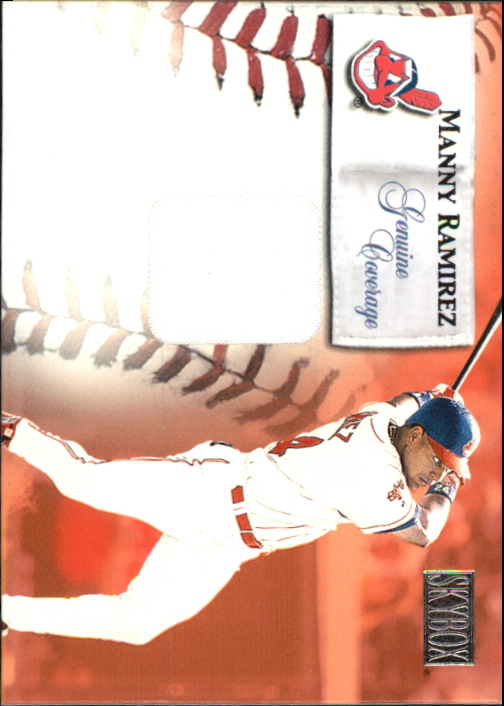 2000 SkyBox Genuine Coverage #4 Manny Ramirez H