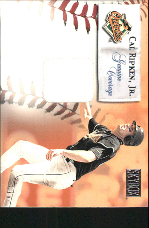 2000 SkyBox Genuine Coverage #5 Cal Ripken HR