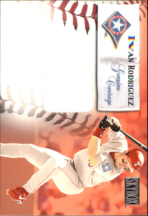 2000 SkyBox Genuine Coverage #7 Ivan Rodriguez H