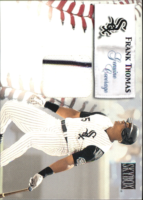 2000 SkyBox Genuine Coverage #8 Frank Thomas H