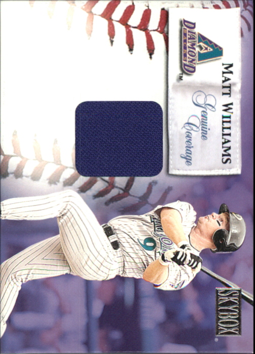 2000 SkyBox Genuine Coverage #10 Matt Williams HR