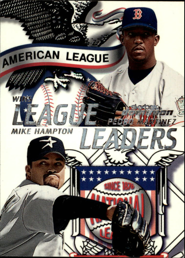 2000 SkyBox Dominion #5 M.Hampton/P.Martinez LL