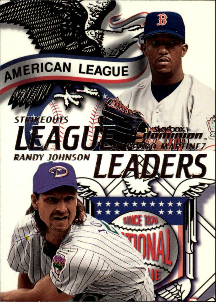 2000 SkyBox Dominion #6 R.Johnson/P.Martinez LL