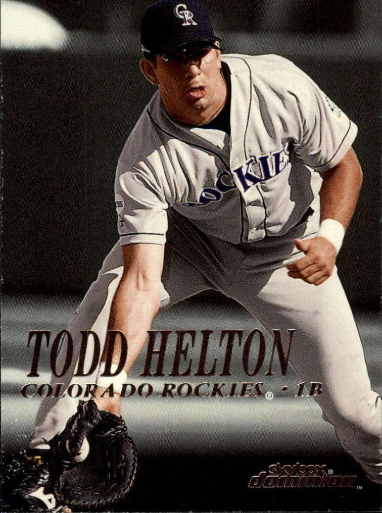 2000 SkyBox Dominion #82 Todd Helton