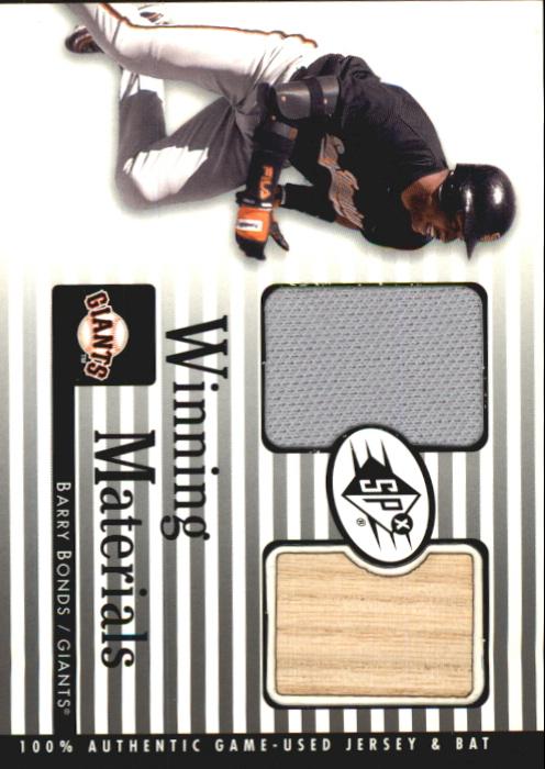 2000 SPx Winning Materials #BB1 B.Bonds Bat-Jsy