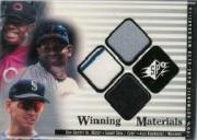 2000 SPx Winning Materials Update #GSR Ken Griffey Jr./Sammy Sosa/Alex Rodriguez/Jsy-Jsy-Jsy