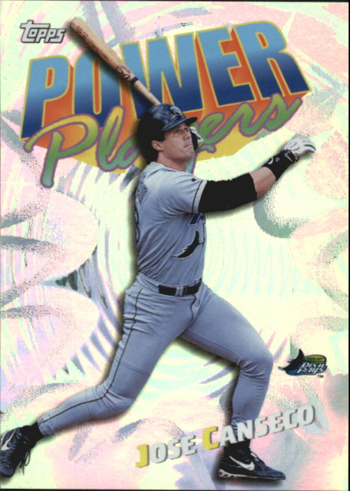 2000 Topps Power Players #P9 Jose Canseco