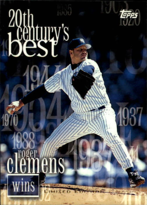 2000 Topps Limited #235 Roger Clemens 20CB