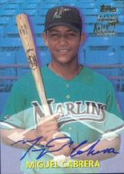 2000 Topps Traded Autographs #TTA40 Miguel Cabrera